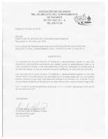 Certificación de Antecedentes Fundadores y Miembros Juantas Administrativas